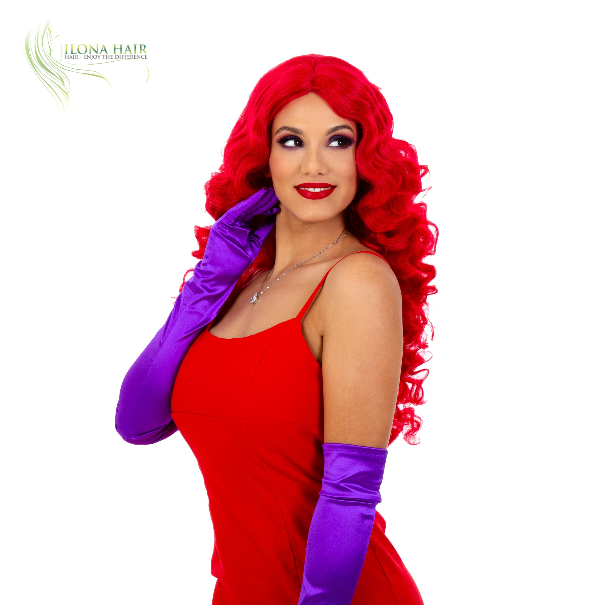 Jessica Rabbit Synthetic Hair Wig 1 Color Ilona Hair