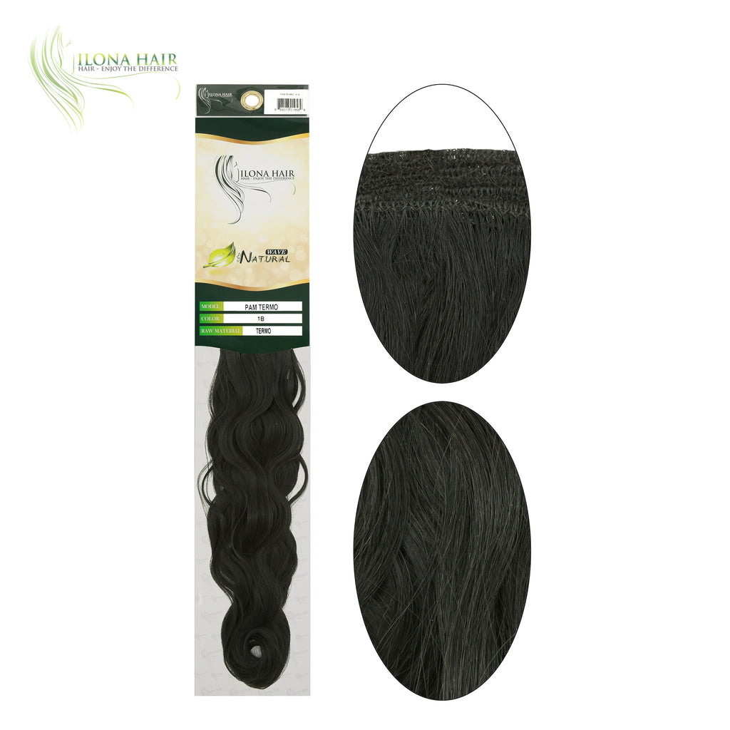 Pam | Synthetic Heat Friendly Extensions (Non Clip-In) | 5 Colors EXTENSIONS - Ilona Hair - Enjoy The Difference