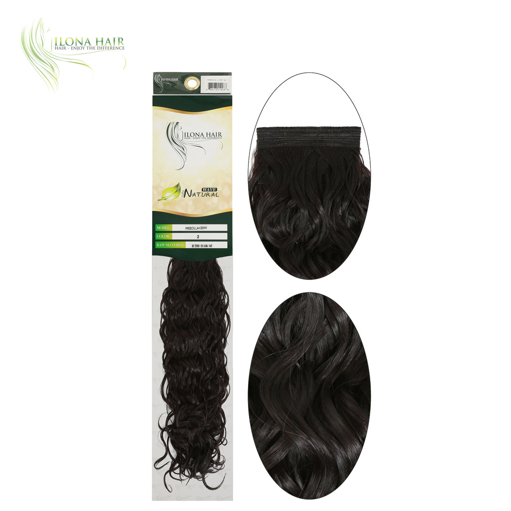 Perla | Synthetic Heat Friendly Extensions (Non Clip-In) | 3 Colors EXTENSIONS - Ilona Hair - Enjoy The Difference