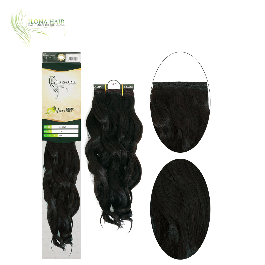 Pili | Synthetic Heat Friendly Extensions (Non Clip-In) | 9 Colors EXTENSIONS - Ilona Hair - Enjoy The Difference