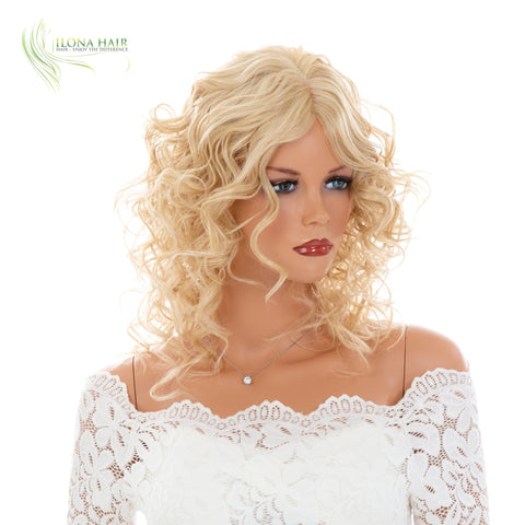 Saada | Heat Friendly Synthetic Wig (Monofilament Part) | 11 Colors