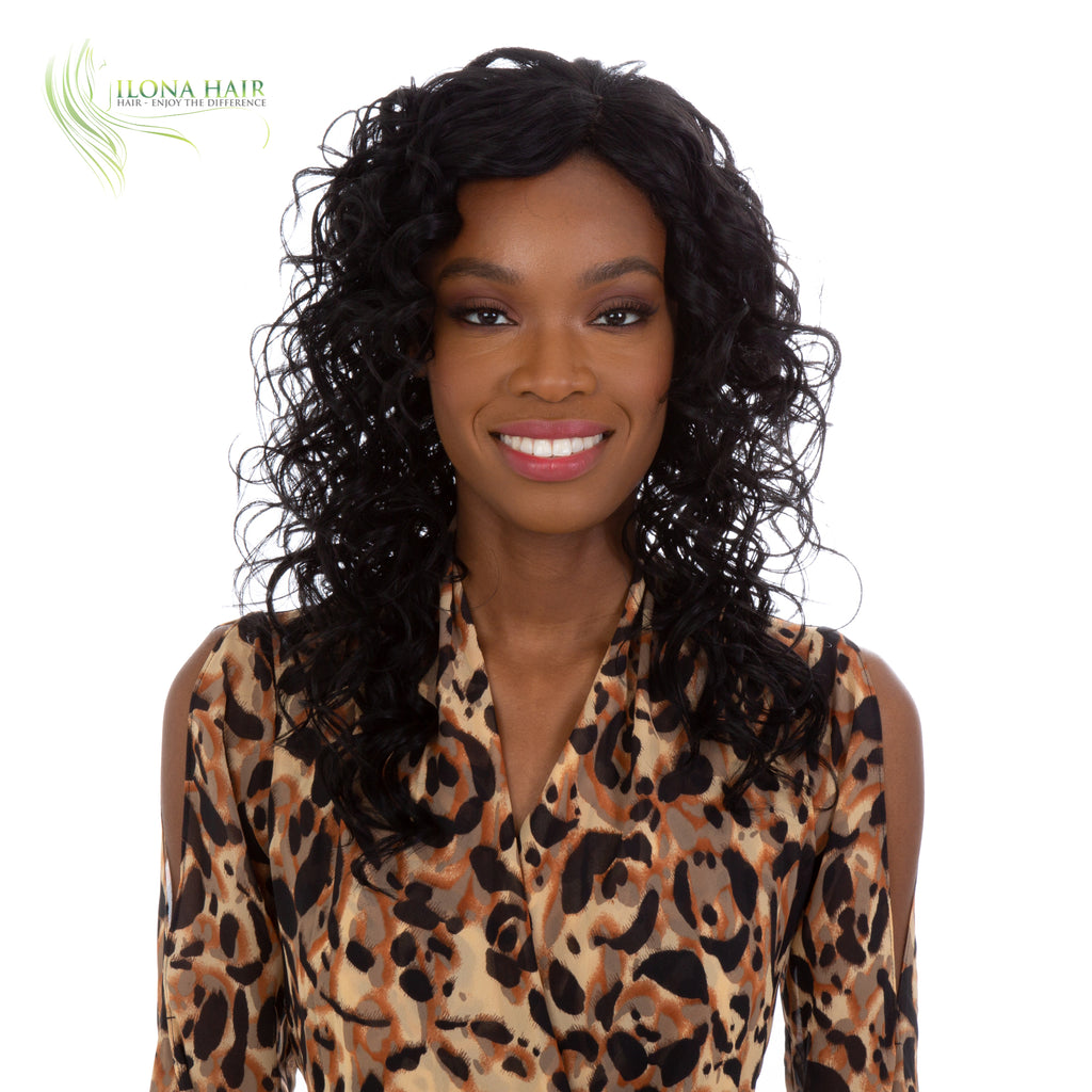 Saada | Heat Friendly Synthetic Wig (Monofilament Part)By Ilona Hair WIGS - Ilona Hair - Enjoy The Difference