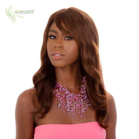 Sabrina | Human Hair Wig (Monofilament Part)  BY ILONA HAIR WIGS - Ilona Hair - Enjoy The Difference