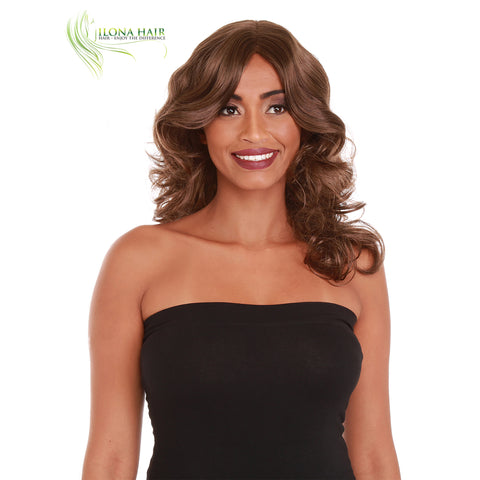 Sadie | Synthetic Wig (Mono Crown) | 3 Colors WIGS - Ilona Hair - Enjoy The Difference