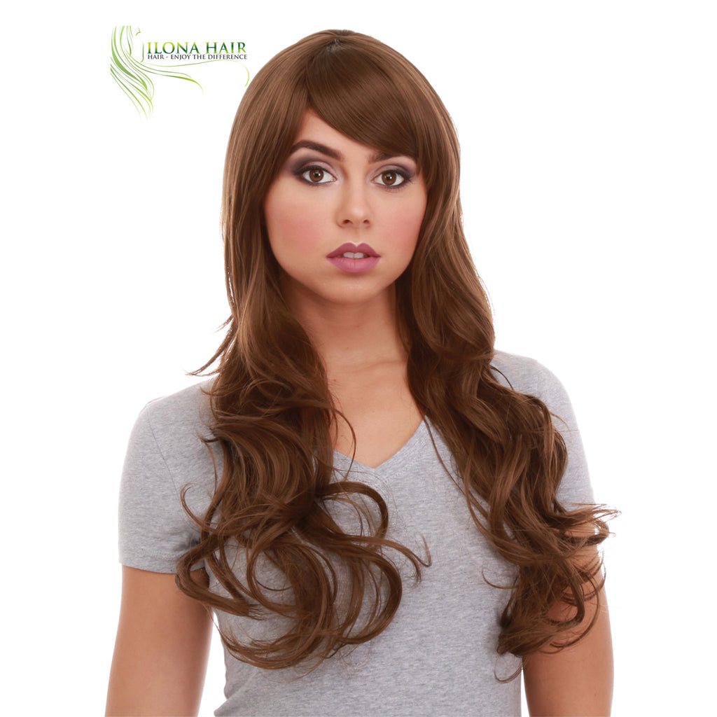 Saira| Synthetic Heat Friendly Wig (Basic Cap) | 14 Colors WIGS - Ilona Hair - Enjoy The Difference