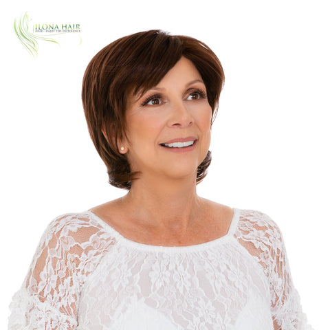 Samantha | Synthetic Heat Friendly Wig (Monofilament) | 1 Color WIGS - Ilona Hair - Enjoy The Difference