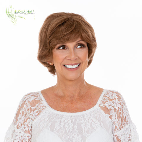Scarlett | Human Hair Wig (Monofilament) | 10 Colors WIGS - Ilona Hair - Enjoy The Difference