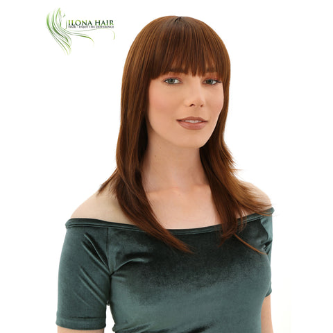 Seraphina | Synthetic Heat Friendly Wig (Basic Cap) | 12 Colors WIGS - Ilona Hair - Enjoy The Difference