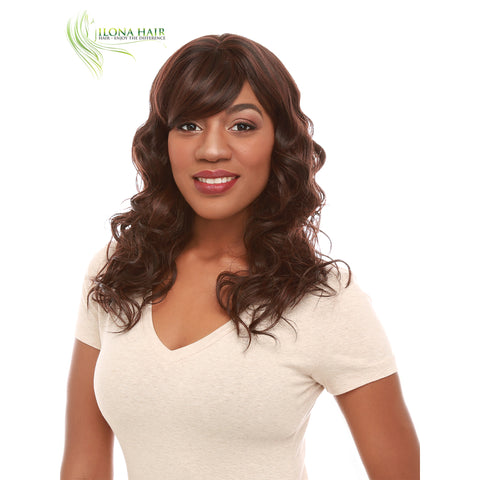 Shadow | Synthetic Heat Friendly Wig (Basic Cap) | 5 Colors WIGS - Ilona Hair - Enjoy The Difference