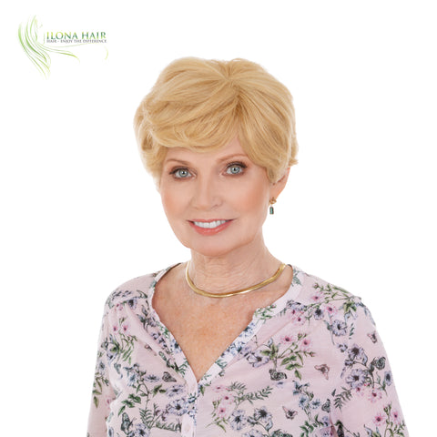 Sophia | Human Hair Wig (Monofilament) | 17 Colors WIGS - Ilona Hair - Enjoy The Difference