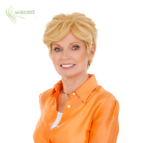 Stefanie | Human Hair Wig (Monofilament) | 11 Colors WIGS - Ilona Hair - Enjoy The Difference
