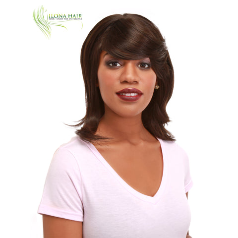 Subara | Synthetic Heat Friendly Wig (Basic Cap) | 4 Colors WIGS - Ilona Hair - Enjoy The Difference