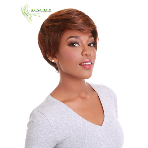 Sunlove | Synthetic Heat Friendly Wig (Basic Cap) | 2 Colors WIGS - Ilona Hair - Enjoy The Difference