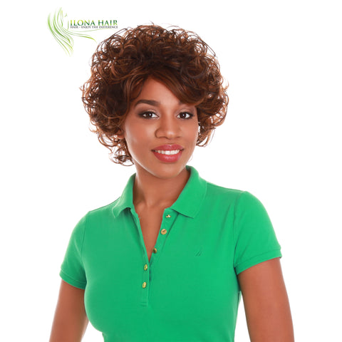 Sunny | Synthetic Heat Friendly Wig (Basic Cap) | 2 Colors WIGS - Ilona Hair - Enjoy The Difference
