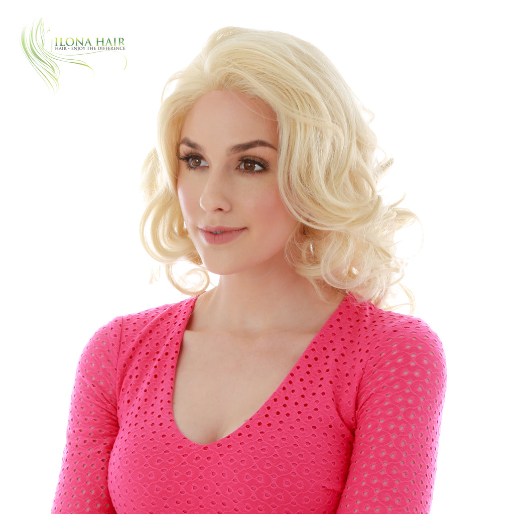 Lusanna | Synthetic Heat Friendly Wig (Basic Cap) | 2 Colors WIGS - Ilona Hair - Enjoy The Difference