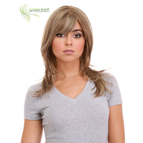 Suzie | Synthetic Heat Friendly Wig (Monofilament) | 9 Colors WIGS - Ilona Hair - Enjoy The Difference