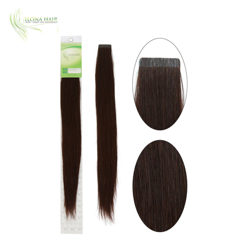 "18"" - 32"" Human Hair Tape In Extensions 