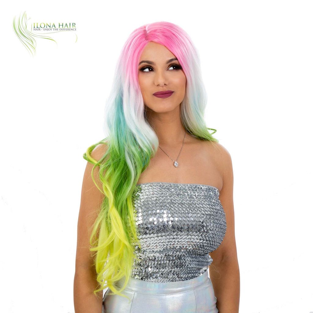 Unicorn | Synthetic Hair Wig  (Lace Front)  By Ilona Hair