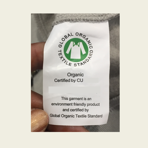 Smitten Organic - Certification Tag