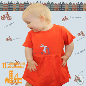 Hybrid Bike T-Shape Dress