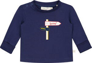 Upcycled Spring Way board Long Sleeve T-shirt