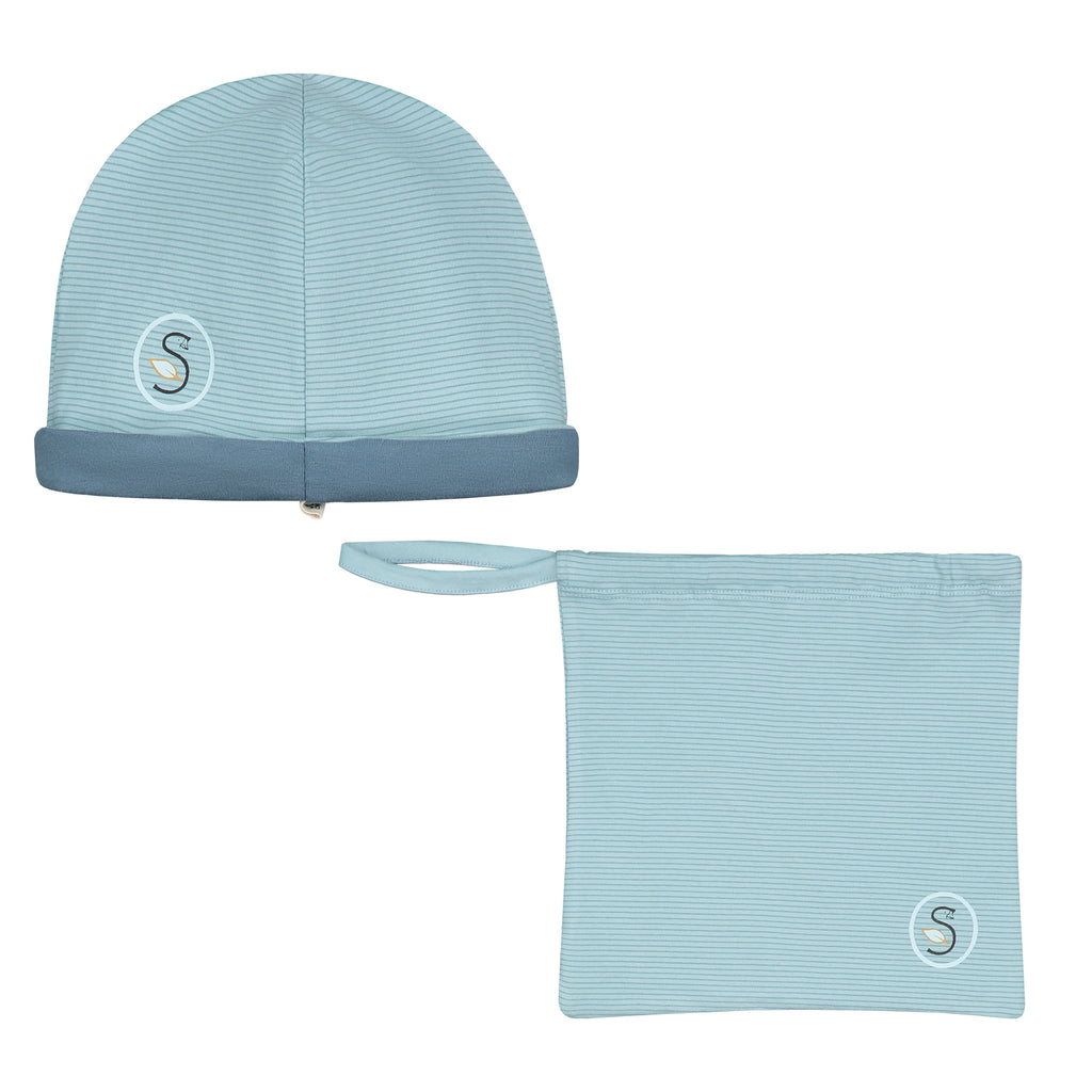 Smitten Organic Essentials - Reversible Hat with a bag