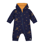 Hedgehog and Autumn Leave Reversible Suit