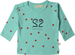 Upcycled 'Hello Spring' Long Sleeve T-shirt - Featuring the Smitten Organic Swan