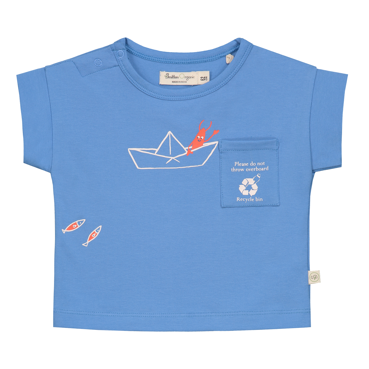 Lobster Inspiring Plastic Recycle - Short Sleeve T-Shirt