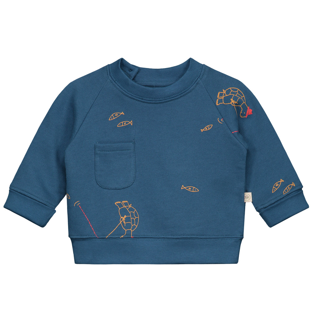Hawkbill Turtle All over print Pullover