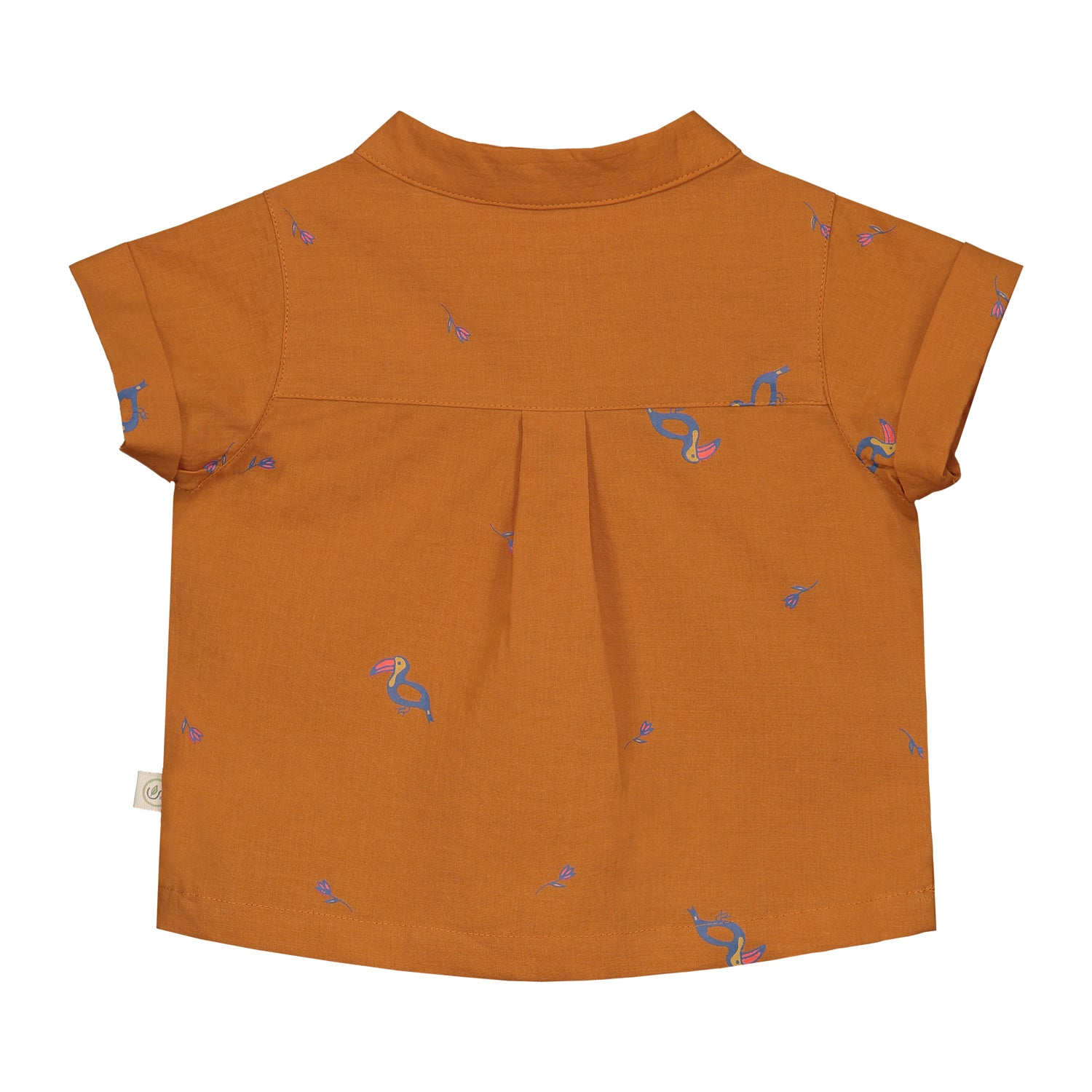 Tropical Toucan Short sleeve Shirt
