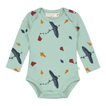 Kite Print Long Sleeve Body