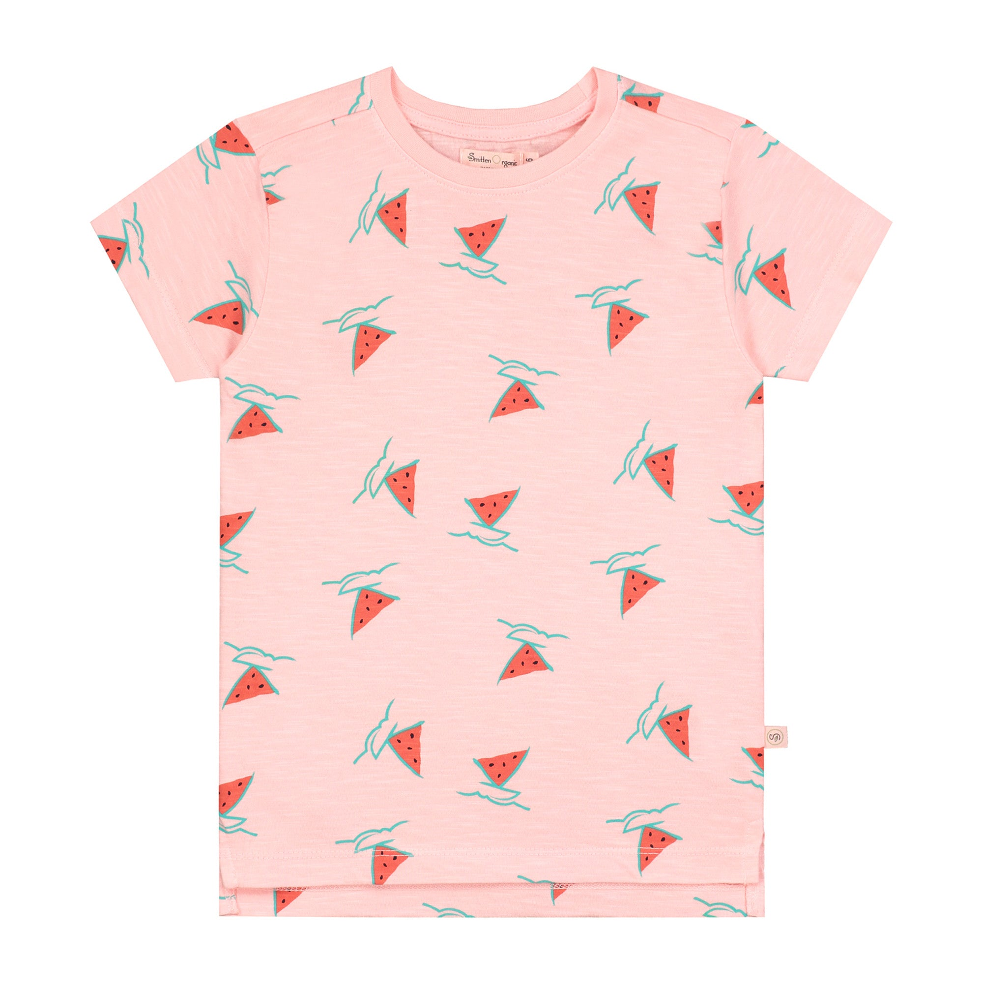 Watermelon Boat Girls T-shirt