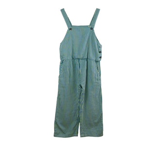 Stripped Woven  Overall jumpsuit