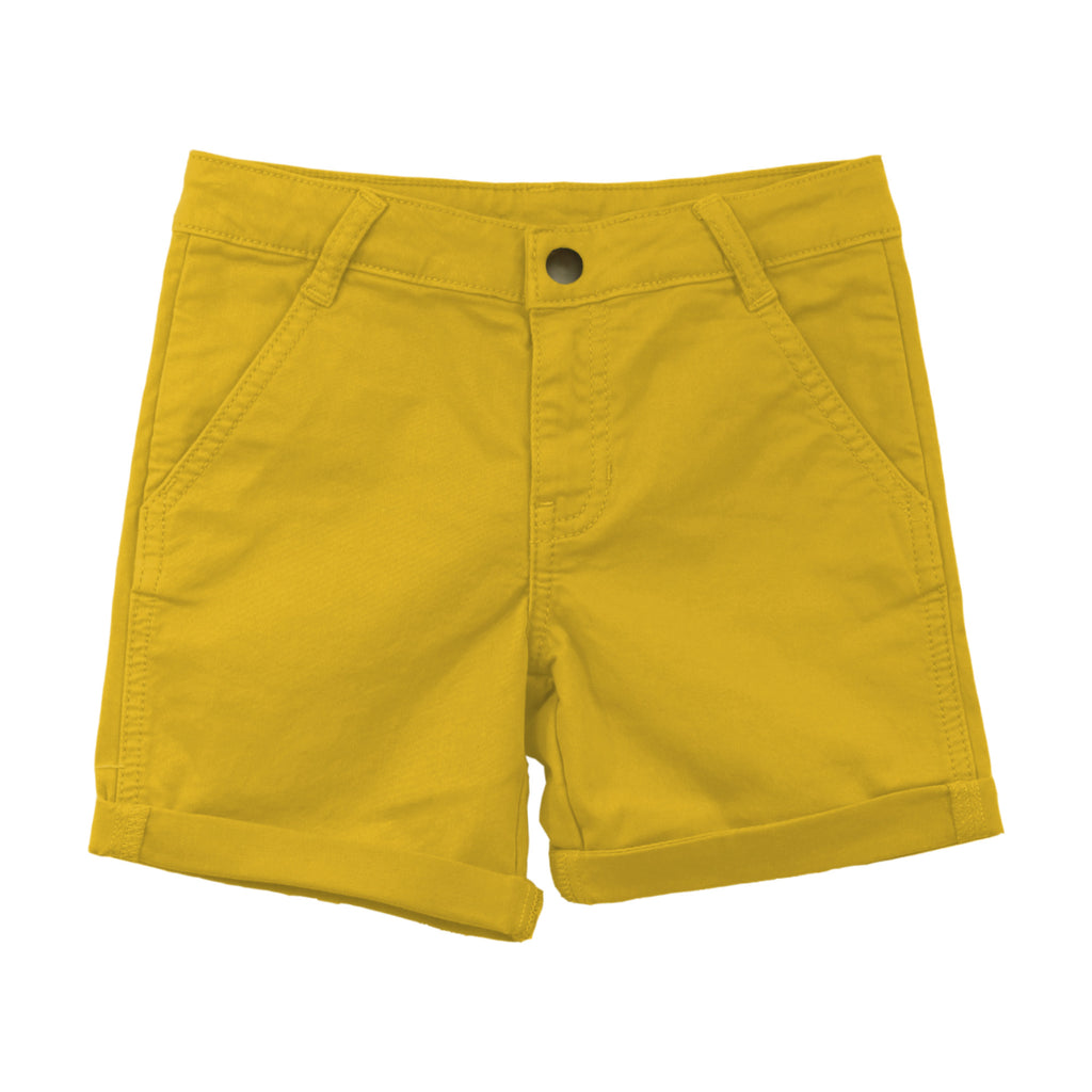 Golden Yellow Chino Bermuda