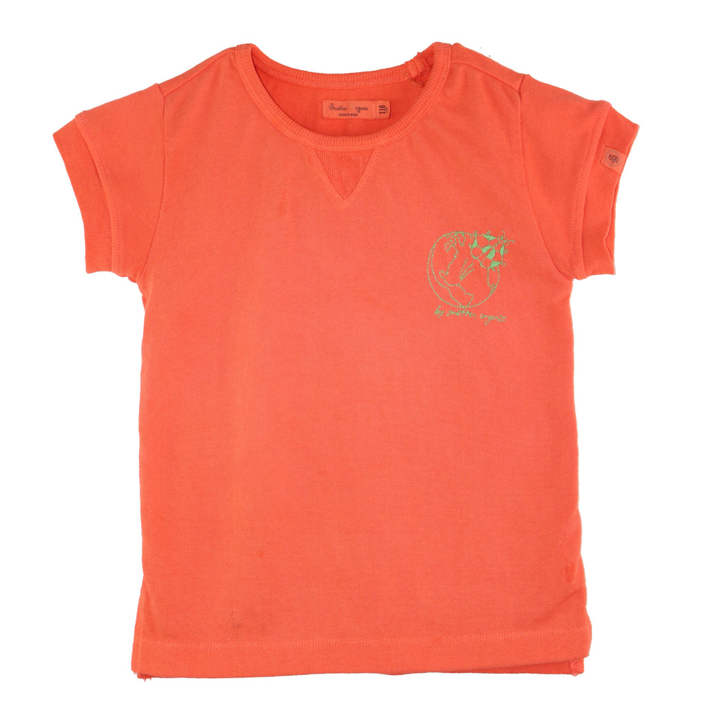 Embroidered Pique T-shirt