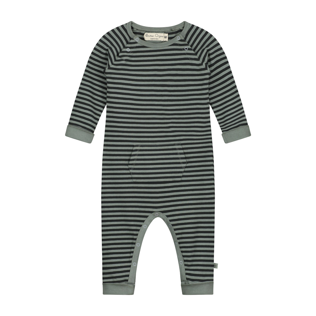 All Over Yarn-dyed Stripes Playsuit