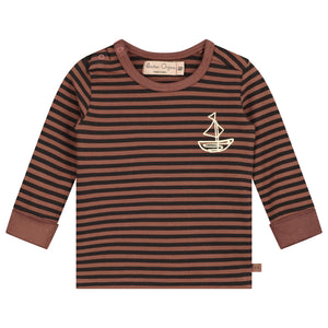 Treasure Boat Stripe Long Sleeve T-Shirt