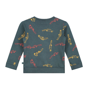 Electrische Autos Allover print Sweatshirt