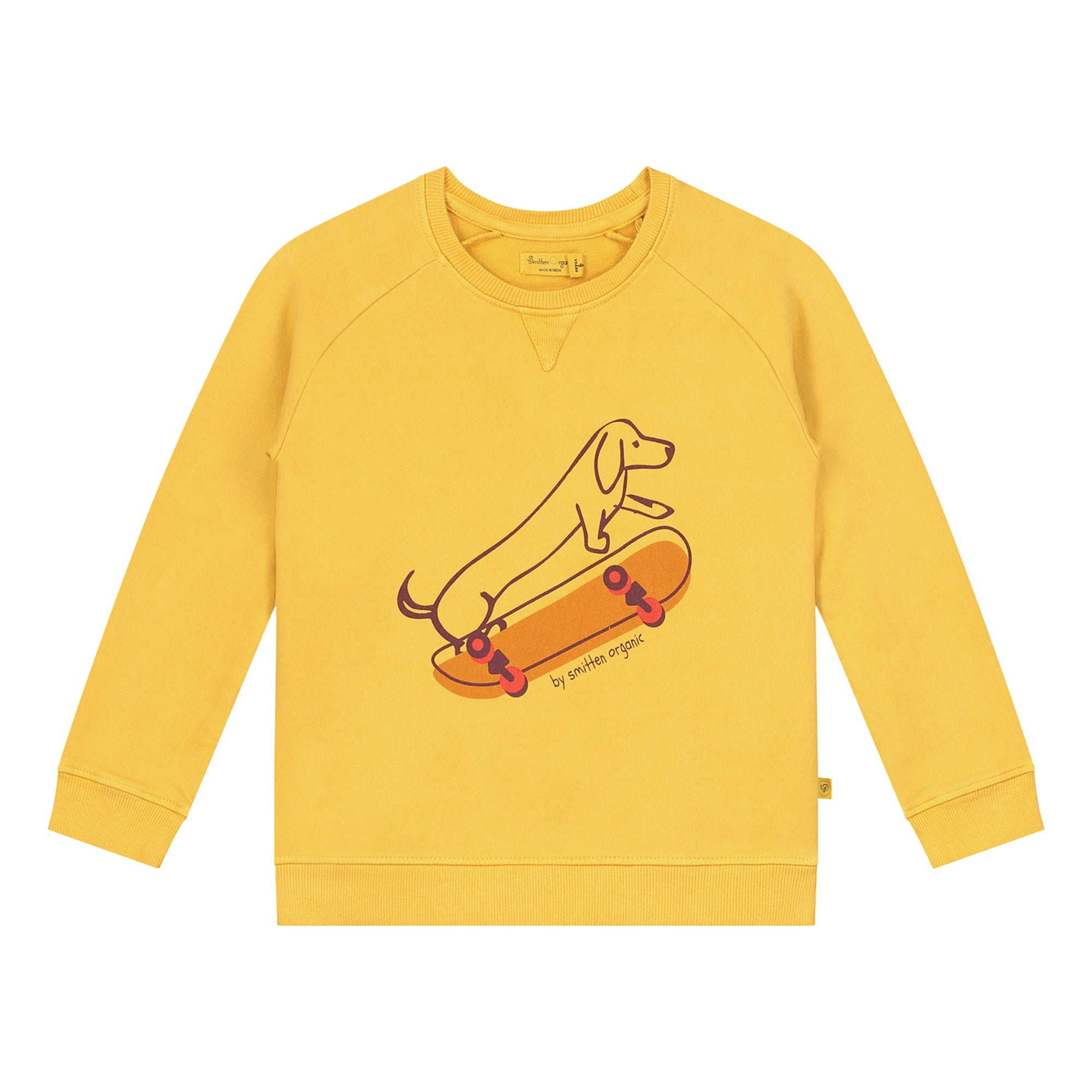 Skateboarding Cotton Fleece Unisex Sweatshirt