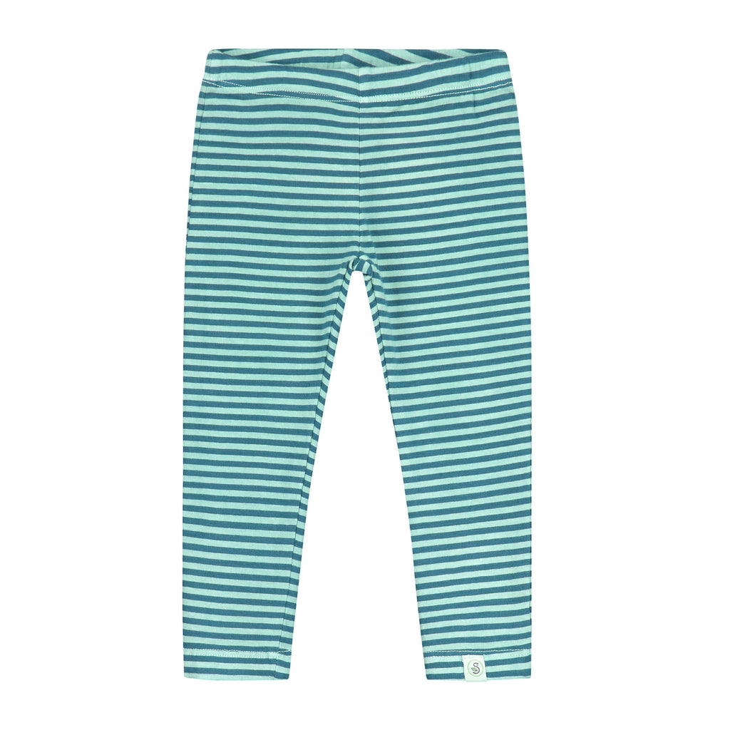 Vintage wash Striped Legging