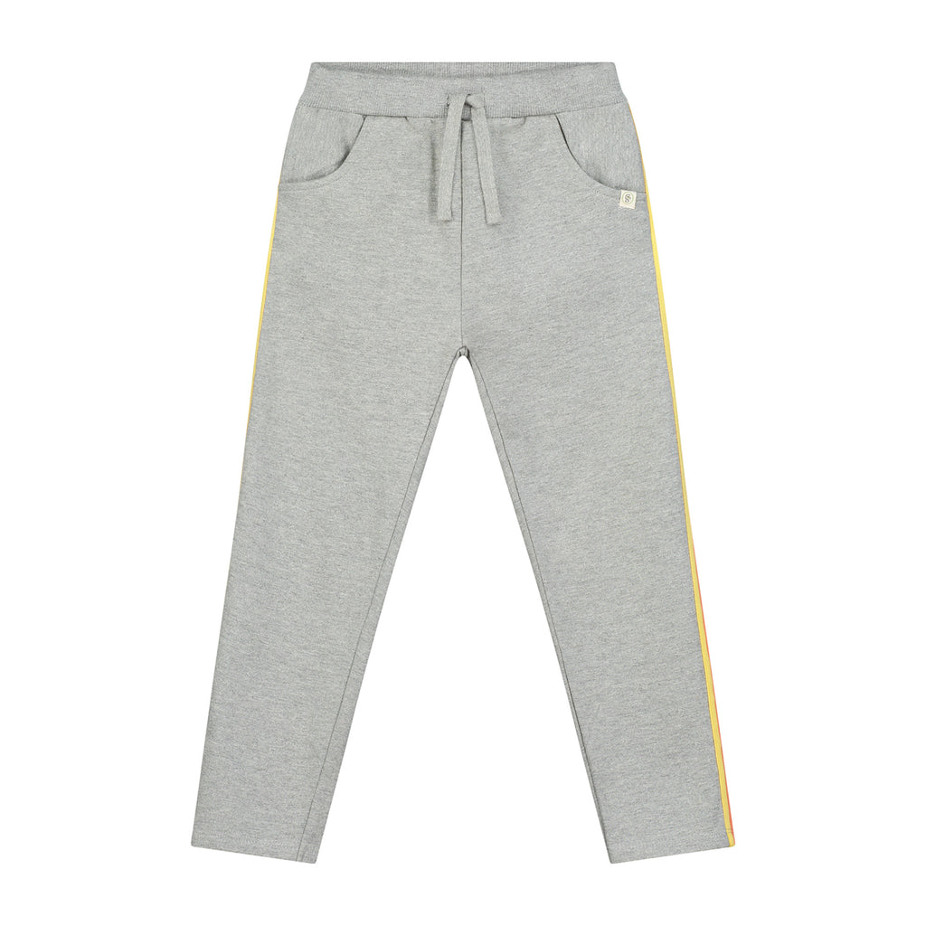Melange Cotton Brushed Fleece Trackpant