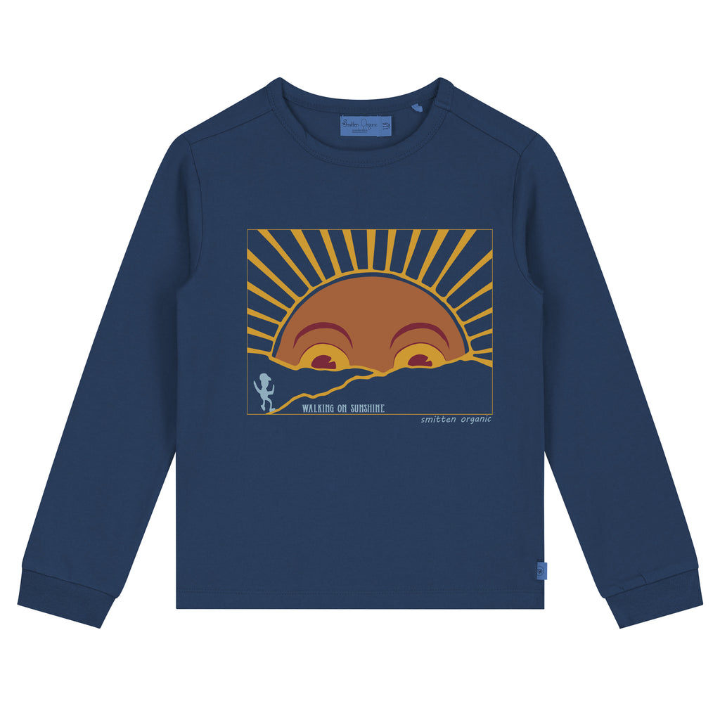 Walking To Sunshine lange mouwen T-shirt