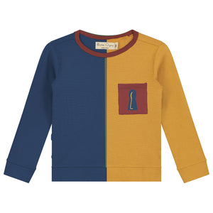 Color Block T-Shirt LS