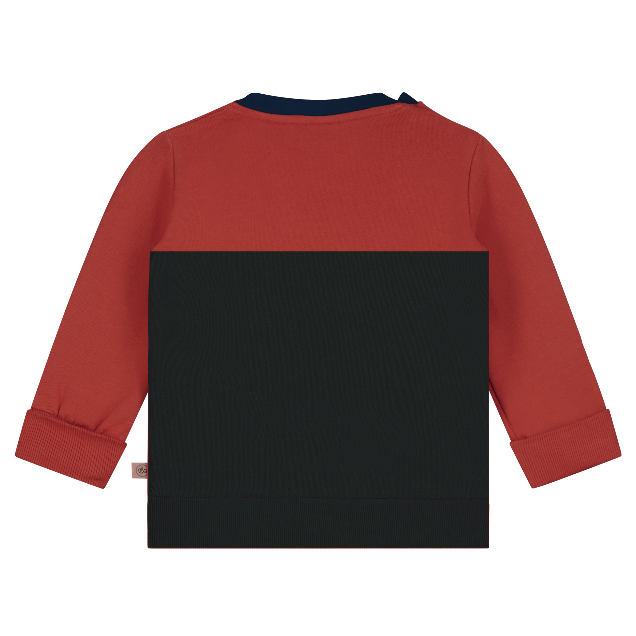 Color block Pullover LS