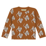 Magical Leopard All Over Print T-Shirt LS