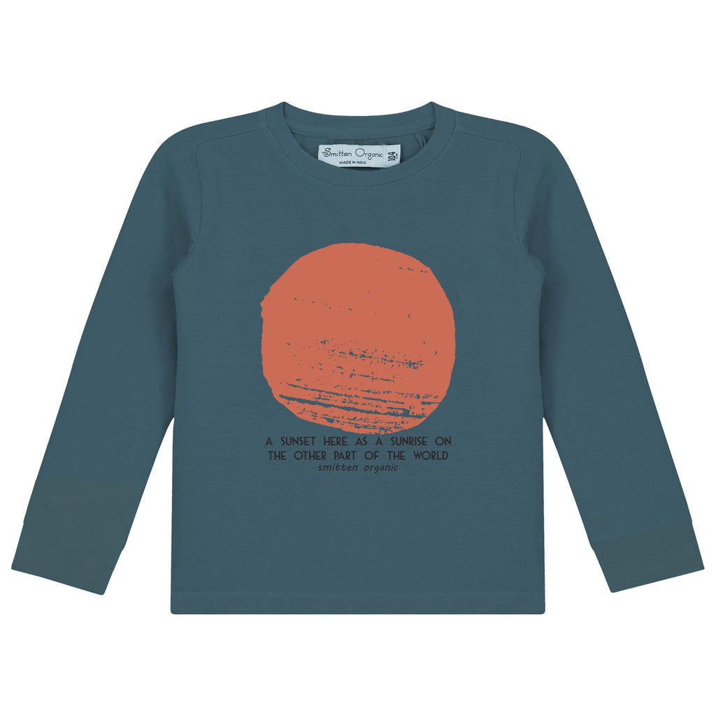 Sunrise Print T-Shirt LS