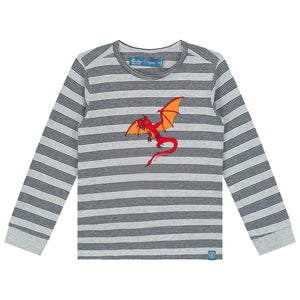Flying Dragon Long Sleeve T-Shirt