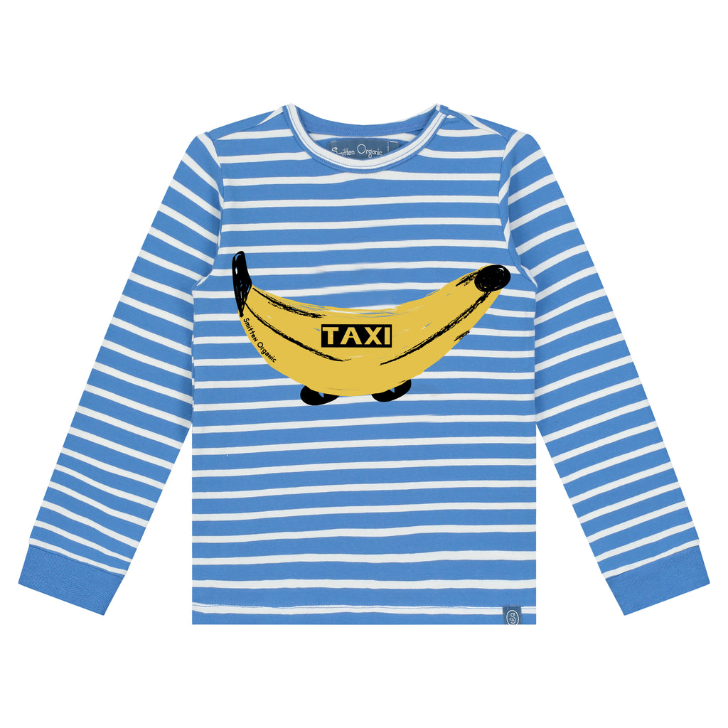 Banana Taxi Long Sleeve T-Shirt