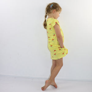 Watermelon Boat Evase Dress